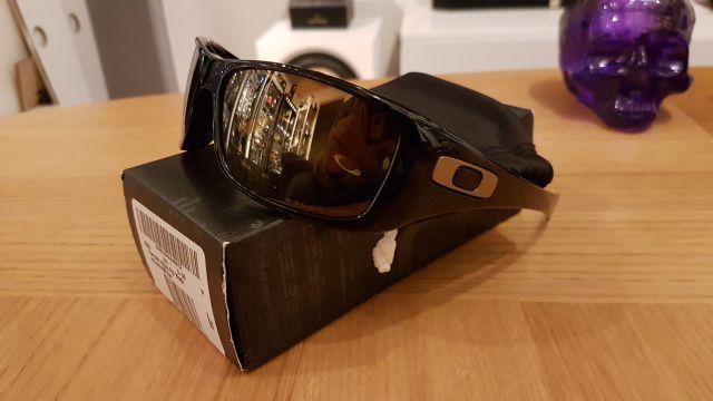 20bab493db Hijinx Harrods Polished Black   Gold Iridium Polarized
